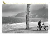 Biker In Ipanema Carry-all Pouch