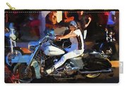 Biker Lady Carry-all Pouch
