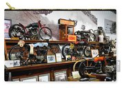 Bikes On A Wall Carry-all Pouch