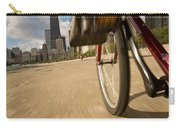Biking Chicagos Lakefront Carry-all Pouch