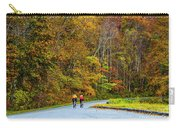 Biking On The Parkway Carry-all Pouch