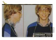 Bill Gates Mug Shot Horizontal Color Carry-all Pouch