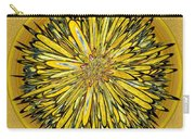 Billy Jean -- Floral Disk Carry-all Pouch