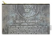Bing Crosby Pebble Beach I Carry-all Pouch