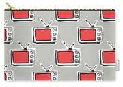 Binge Watching- Art By Linda Woods Carry-all Pouch