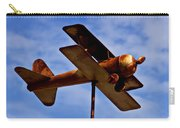 Biplane Weather Vane Carry-all Pouch