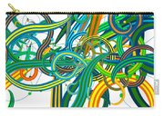 Bipolar Mania Rollercoaster Abstract Carry-all Pouch