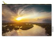 Bira River At Sunset. Carry-all Pouch