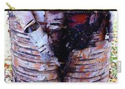 Birch Bark Closeup Carry-all Pouch