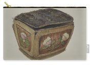 Birch Bark Sewing Basket Carry-all Pouch