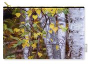 Birch In Autumn Carry-all Pouch