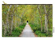 Birch Pathway Perspective Carry-all Pouch