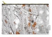 Frost Birch  Carry-all Pouch