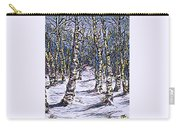 Birch Tree Mosaic 2 Carry-all Pouch