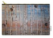 Birch Trees - Clouds Carry-all Pouch