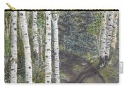 Birch Trees Along Kennys Road  2 Carry-all Pouch