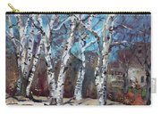 Birch Trees Next Door Carry-all Pouch
