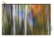 Birches In Autumn Forest Carry-all Pouch