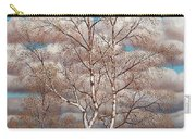 Birches In The Spring Carry-all Pouch