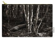 Birches In The Wood Carry-all Pouch