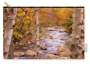Birches On The Kancamagus Highway Carry-all Pouch