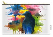 Bird 71 Crow Raven Carry-all Pouch
