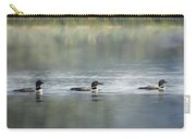 Bird Art Loons - Into The Light Carry-all Pouch