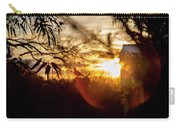 Bird At Sunset Color Carry-all Pouch