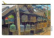 Bird Cages Vintage Photo Indonesia Carry-all Pouch