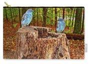 Bird Gossip Carry-all Pouch