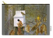 Bird House In Fall Carry-all Pouch