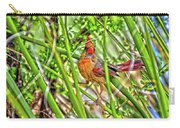 Bird In The Brush H D R Carry-all Pouch