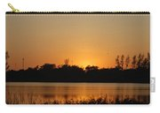 Bird In The Sunset Carry-all Pouch