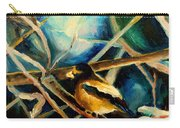 Bird In Winter Carry-all Pouch