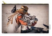 Bird Man Carry-all Pouch