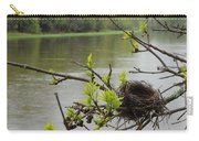 Bird Nest In Ash Tree Branches Carry-all Pouch