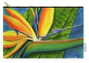 Bird Of Paradise #300b Carry-all Pouch