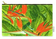 Bird Of Paradise Flower #55 Carry-all Pouch