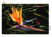 Bird Of Paradise Flower Carry-all Pouch by Brian Harig