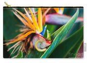 Bird Of Paradise Gecko Carry-all Pouch