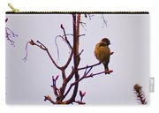 Bird On A Bud Carry-all Pouch