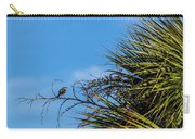 Bird On A Palm Branch Carry-all Pouch