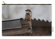 Bird On Roof Carry-all Pouch