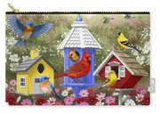 Bird Painting - Primary Colors Carry-all Pouch