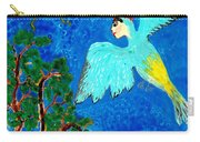 Bird People Green Woodpecker Carry-all Pouch