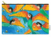 Bird People Little Green Bee Eaters Of Upper Egypt Carry-all Pouch