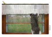 Bird Watching Kitty Cat Carry-all Pouch