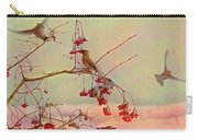 Bird Waxwing Carry-all Pouch