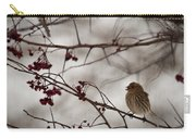 Bird With Berry Carry-all Pouch