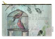 Birdcage Blossom Carry-all Pouch
